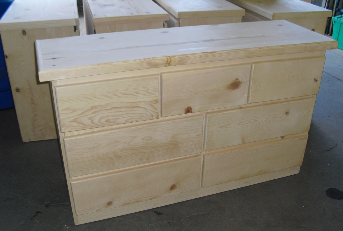 Unfinished Pine Furniture Backwoods Rustic Home Furnishings